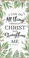 I Can Do All Things Through Christ Fine-Art Print