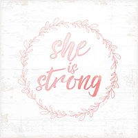 She is Strong Fine-Art Print