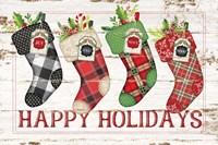 Happy Stockings Fine-Art Print