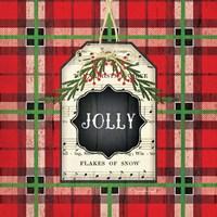 Jolly Christmas Plaid Fine-Art Print