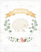 Sweet Little Hedgehog Fine-Art Print