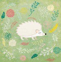 Woodland Hedgehog Fine-Art Print