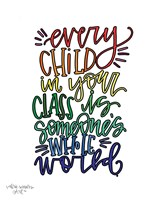 Every Child Colorful Fine-Art Print