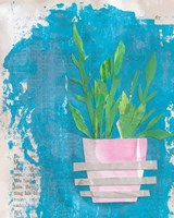 Striped Pot Fine-Art Print