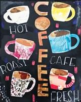Coffee Collage Fine-Art Print