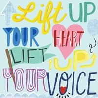 Lift Up Your Voice Fine-Art Print