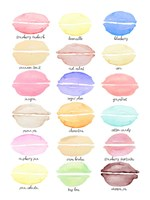 Macaron Flavors Fine-Art Print
