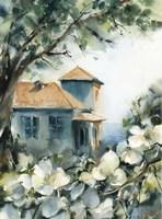 Lake House View Fine-Art Print