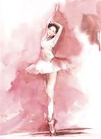 Blush Ballerina III Fine-Art Print