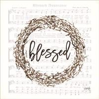 Blessed Assurance Bless Wreath Fine-Art Print