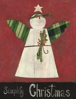 Simplify Christmas Angel Fine-Art Print