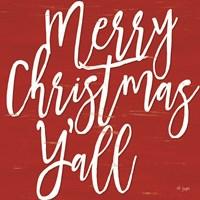Merry Christmas Y'all Fine-Art Print