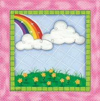 Rainbow & Clouds Fine-Art Print