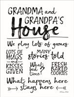 Grandma and Grandpa's House Fine-Art Print