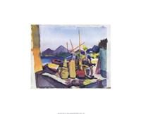 Landscape at Hammamet Fine-Art Print