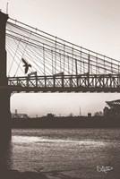Suspension Bridge II Fine-Art Print