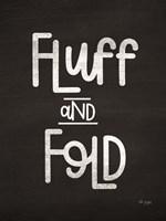 Fluff and Fold Fine-Art Print