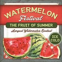 Watermelon Festival Fine-Art Print