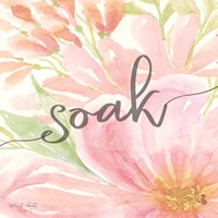 Floral Soak Fine-Art Print