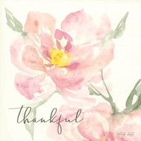 Floral Thankful Fine-Art Print