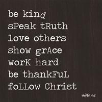 Follow Christ Fine-Art Print