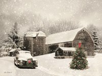 Farmhouse Christmas Fine-Art Print