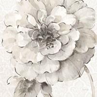 Indigold VII Gray Framed Print