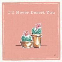 Desert Bloom XI You Fine-Art Print