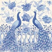 Peacock Garden VI Fine-Art Print