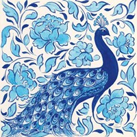 Peacock Garden IV Fine-Art Print