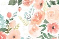 Blooming Delight III White Fine-Art Print