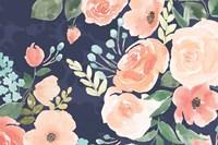 Blooming Delight III Blue Fine-Art Print