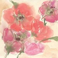 Coral Blooms I Fine-Art Print