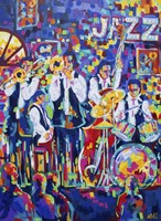 New Orleans Club Jazz Fine-Art Print