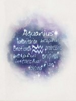 Starlight Astology Aquarius Fine-Art Print