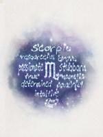 Starlight Astology Scorpio Fine-Art Print