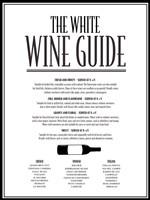 White Wine Guide Fine-Art Print