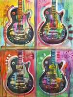 Les Paul 4UP Fine-Art Print