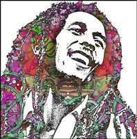 Bob Marley 3 Fine-Art Print