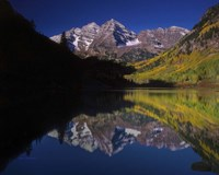 Autumn Majesty At Maroon Bells Fine-Art Print