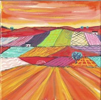 Glorious Cornfields In Scotland Fine-Art Print