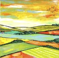 The Scottish Citrus Fields Fine-Art Print