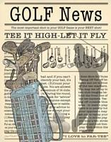 Golf News 1 Fine-Art Print