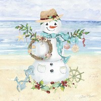 Coastal Christmas F Fine-Art Print