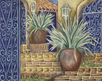 California Pots Agave Fine-Art Print