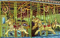 Carousel Esther Sam Sally Fine-Art Print