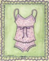 Lingerie Pink Cami Set Fine-Art Print