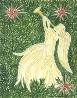 Angels Yellow Fine-Art Print