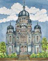 Synagogue Lodz Exterior Fine-Art Print