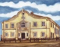 Synagogue Telz Exterior Fine-Art Print